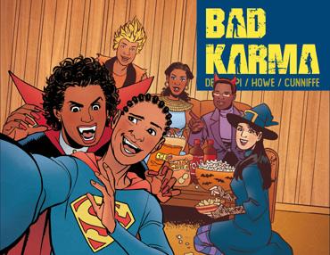 Bad Karma - Issue 4