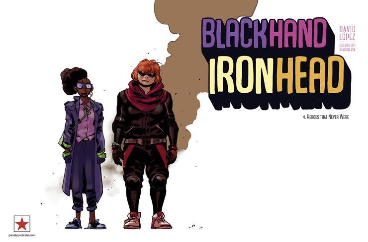 Blackhand Ironhead - Issue 4