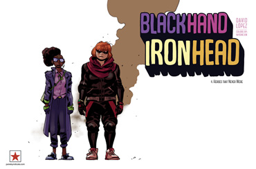 Blackhand Ironhead - Issue 4