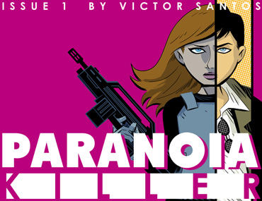 Paranoia Killer - Issue 1