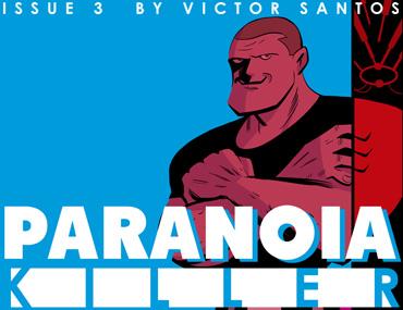 Paranoia Killer - Issue 3