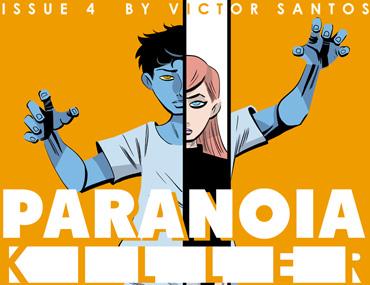 Paranoia Killer - Issue 4
